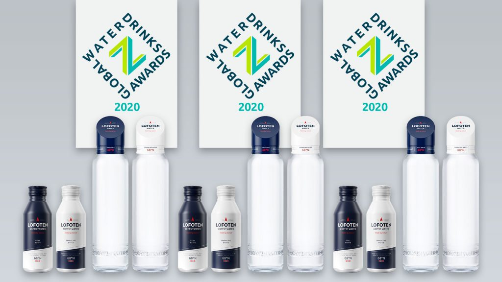 Lofoten Arctic Water won 3 first prices during Zenith Global Awards 2020